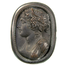 Cameo. Bust of Ariadne