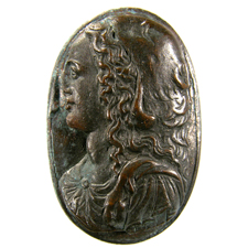 Cameo. 'Omphale' bust