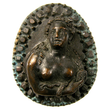 Cameo. Cleopatra bust