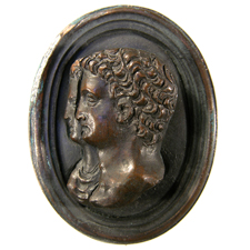 Cameo. Heads, Germanicus, Agrippina