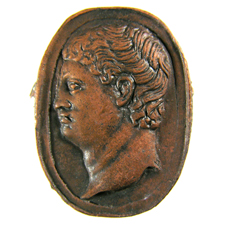 Cameo. Bust of man