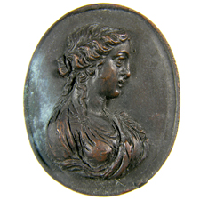 Cameo. Bust of woman