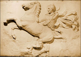 Photo of Cast of part of frieze from Parthenon
